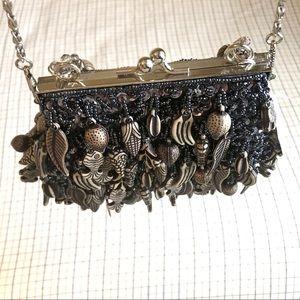 Handbags - Evening Beaded Clutch